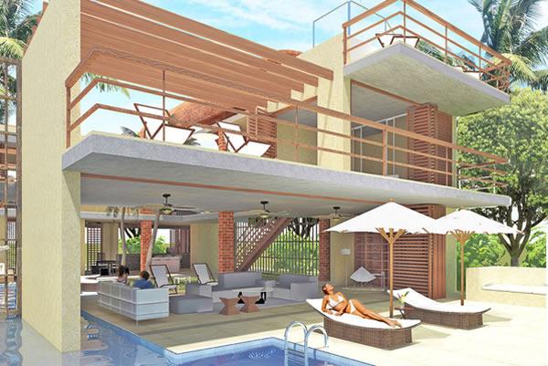 Barú Grande Beach House cuenta con casas construidas con acabados exclusivos y posibilidad de personalización en diseño de las casas, áreas y precio.